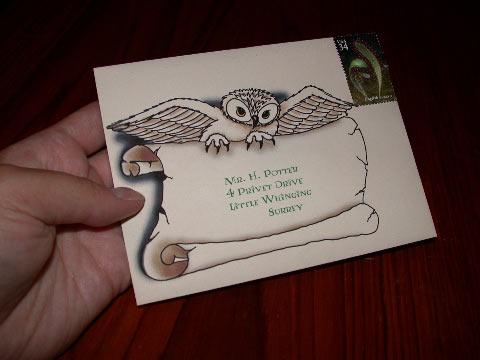 the hogwarts celebration the invitations
